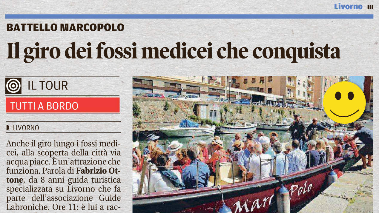 Livorno in battello con Itinera
