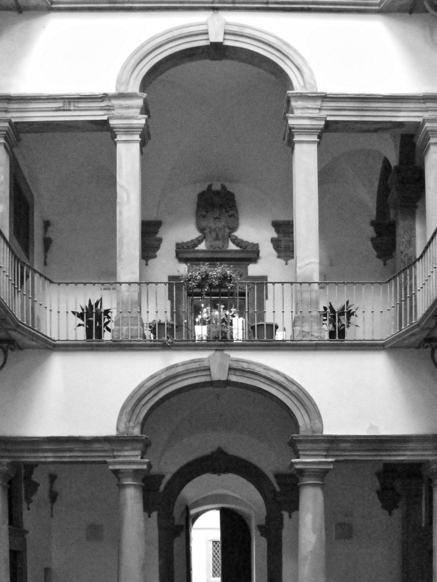 Livorno Cortile di Palazzo Huigens