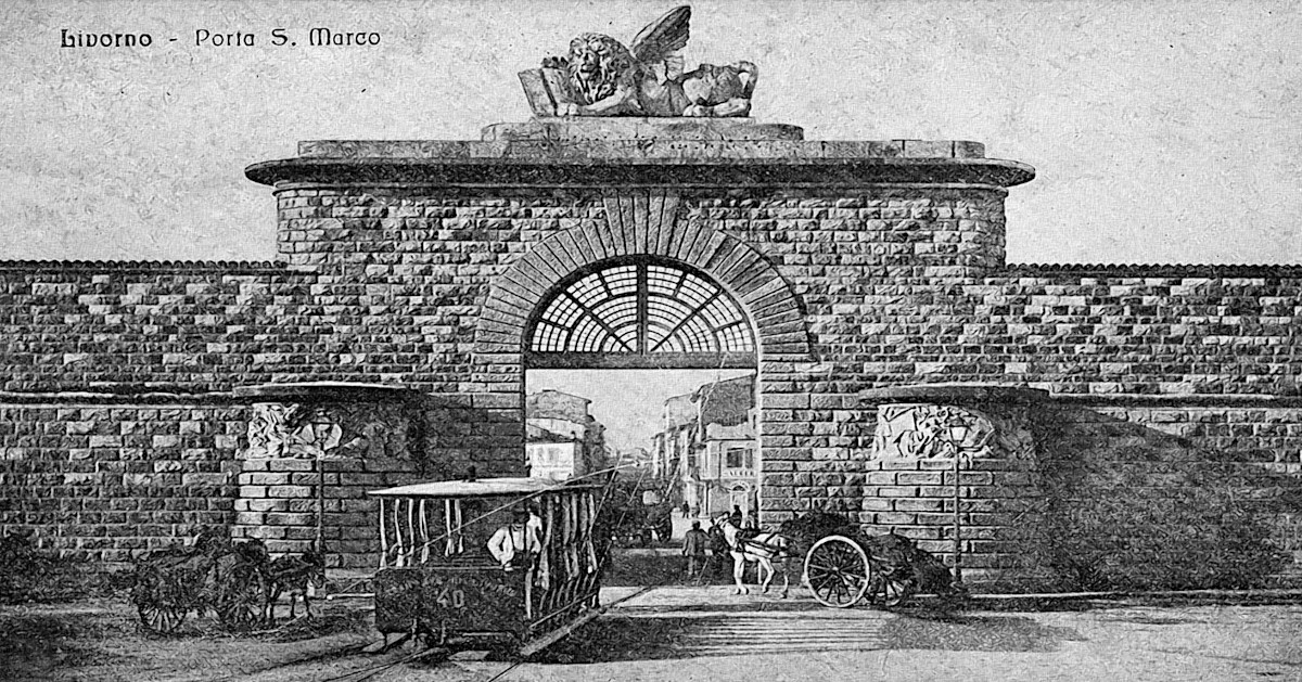 Porta San Marco Livorno